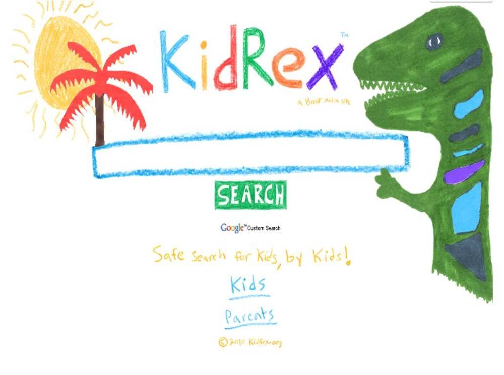 KidRex: motor de busca do Google mais seguro para crianças