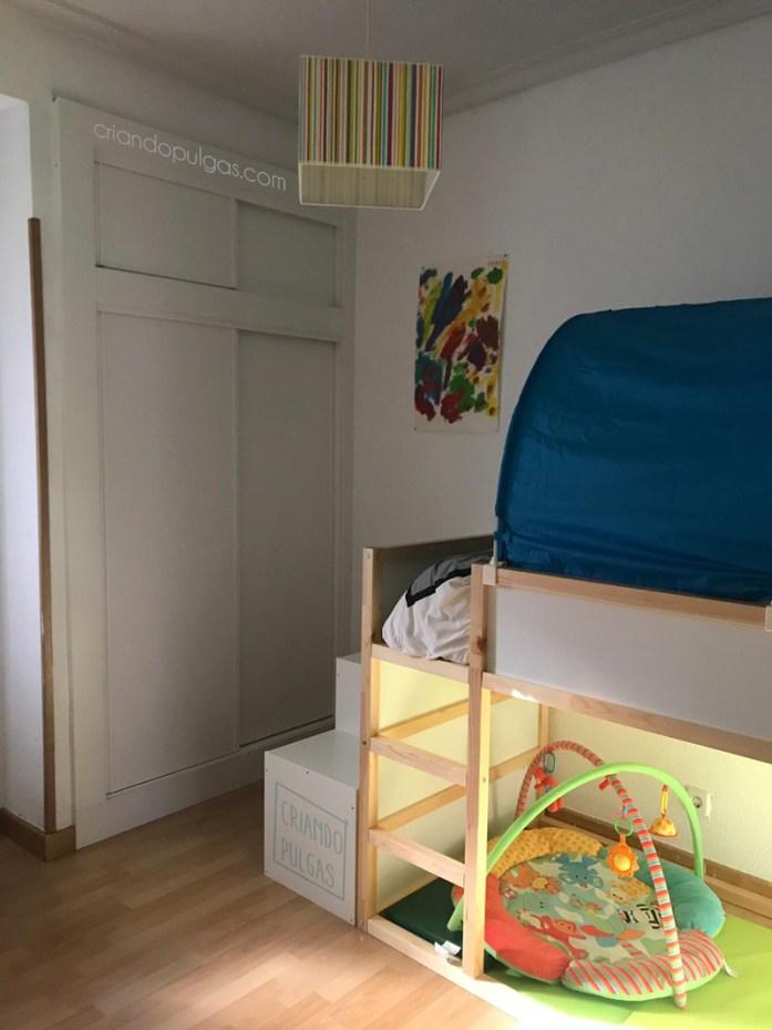 Zona de dormir y almacenaje