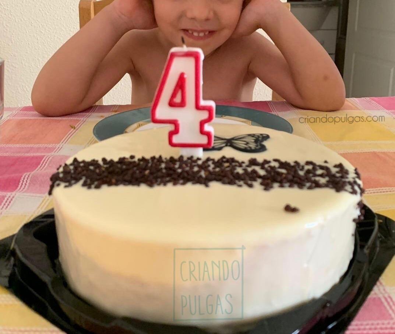Felices 4 años mi niña