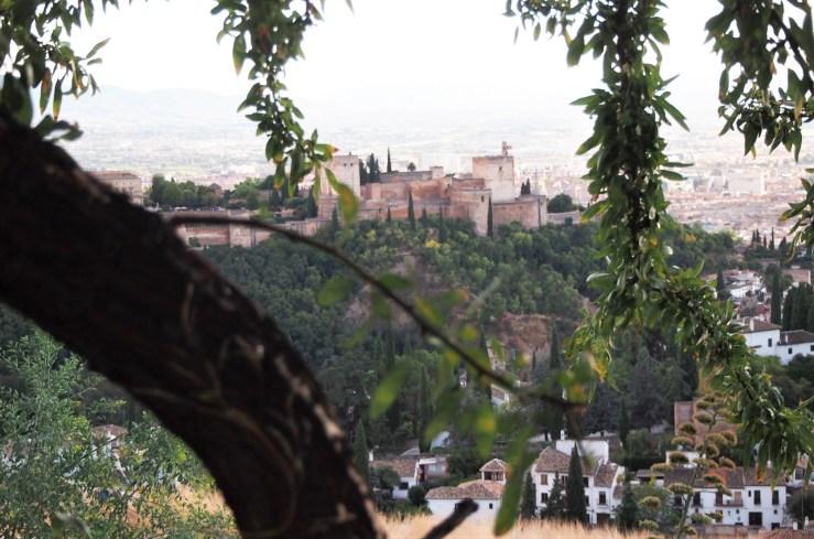 La Alhambra desde el mirador de San Miguel Alto