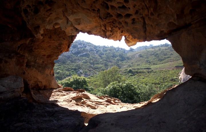 Vista desde lo alto del monte