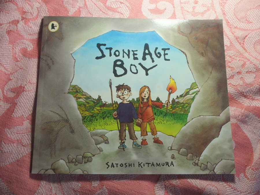 Portada del libro Stone Age boy. Uno de nuestros proyectos homeschooling