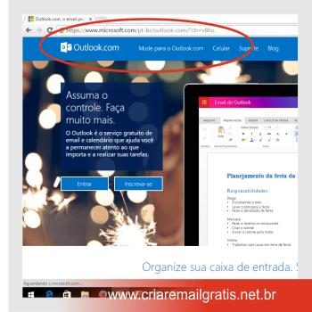 Criar Email Grátis Outlook - outlook email