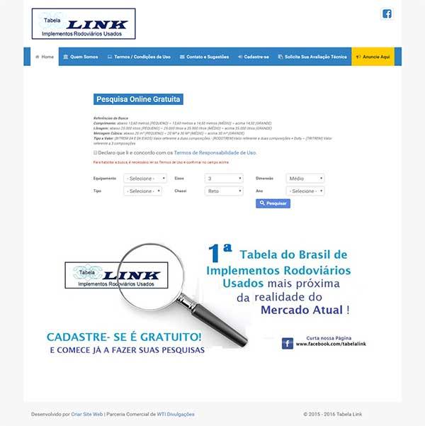 Tabela Link - Implementos Rodoviários Usados