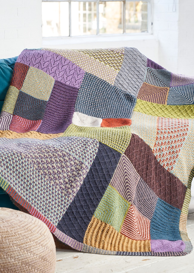Elder Throw Knit Along All Releases