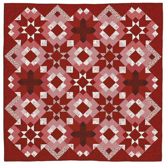 Ruby Reds quilt pattern