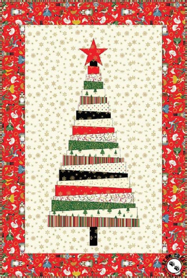 Christmas Tree Free Quilt