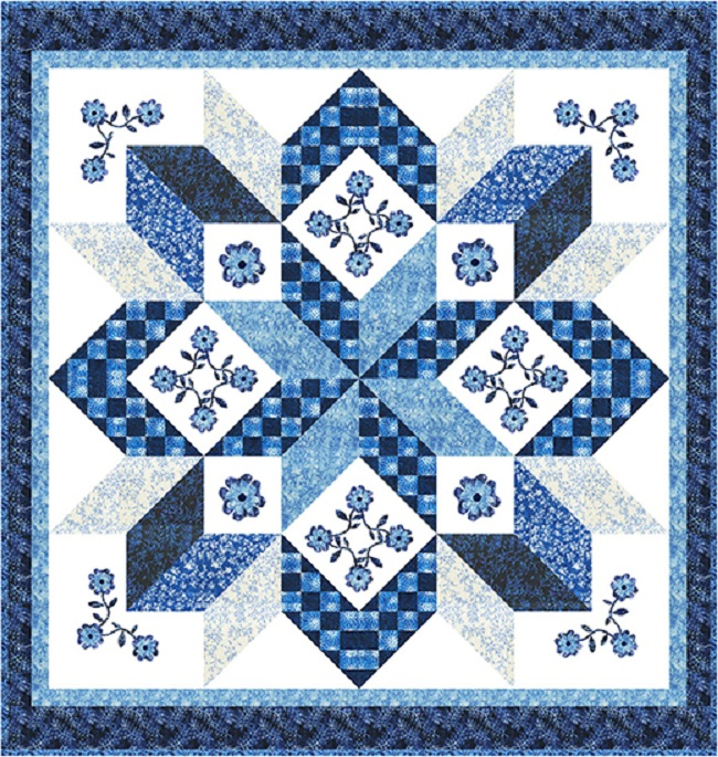 Sky Water Mill Quilt Pattern
