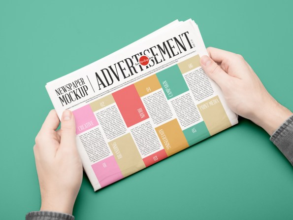 Free-Newspaper-Mockup-PSD-For-Advertisement-2018-600