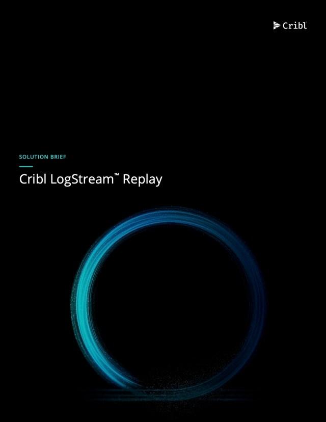 LogStream Replay