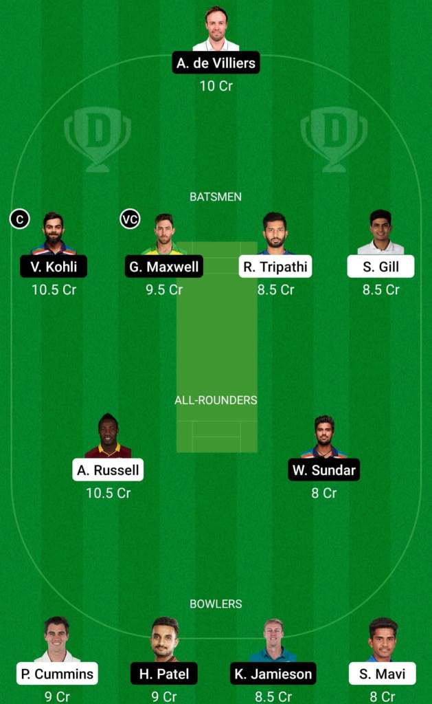 IPL 2021 Match 30: RCB vs KKR Dream11 Prediction Possible Playing 11 Pitch Report   BLR vs KOL Dream11 Prediction Today   Royal Challengers Bangalore vs Kolkata Knight Riders   Key Players   Ahemdabad Pitch Report