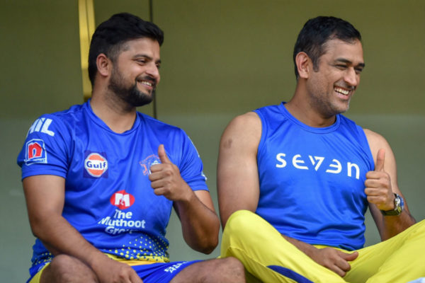 Dhoni Equals Suresh Raina Most Capped Player IPL
