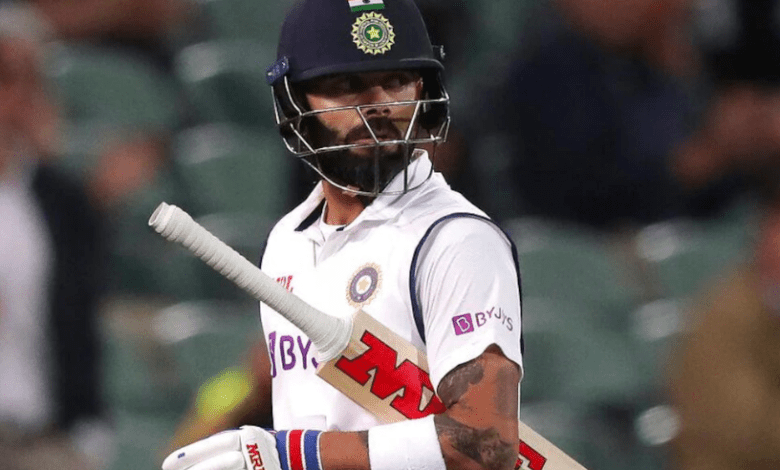 Virat Kohli out of form