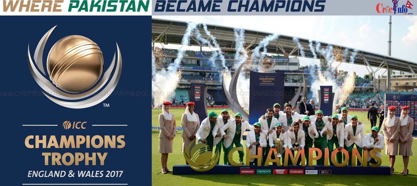 ICC CHAMPIONS TROPHY WINNERS