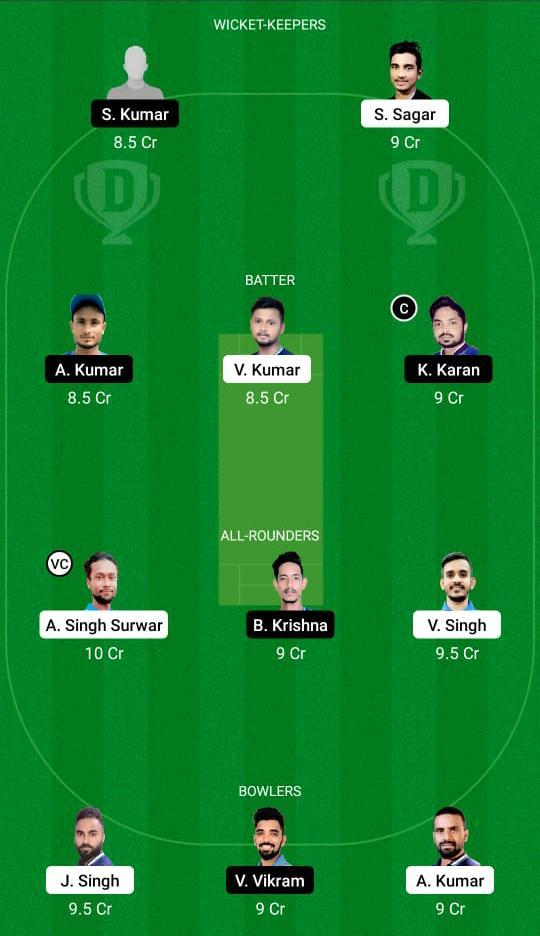 JAM vs SIN Dream11 Prediction Fantasy Cricket Tips Dream11 Team BYJU's झारखंड T20