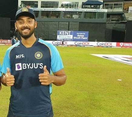 Varun Chakravarthy, Sri Lanka vs. India