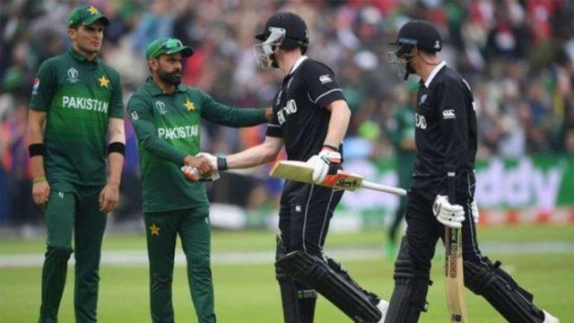 न्यूजीलैंड बनाम पाकिस्तान