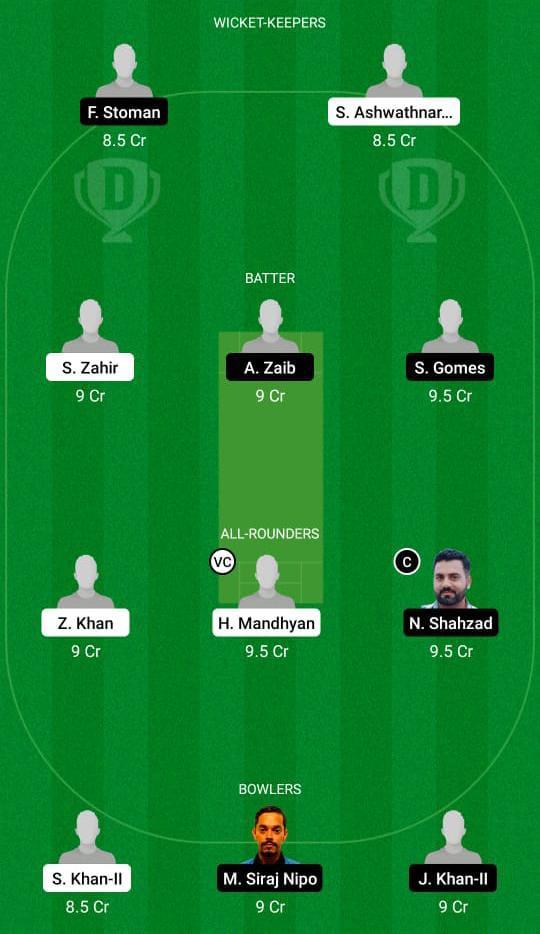 HUN vs POR Dream11 Predict fantasy cricket skills Dream11 Team Dream11 ECC T10