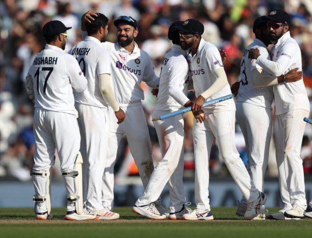 भारत क्रिकेट टीम।