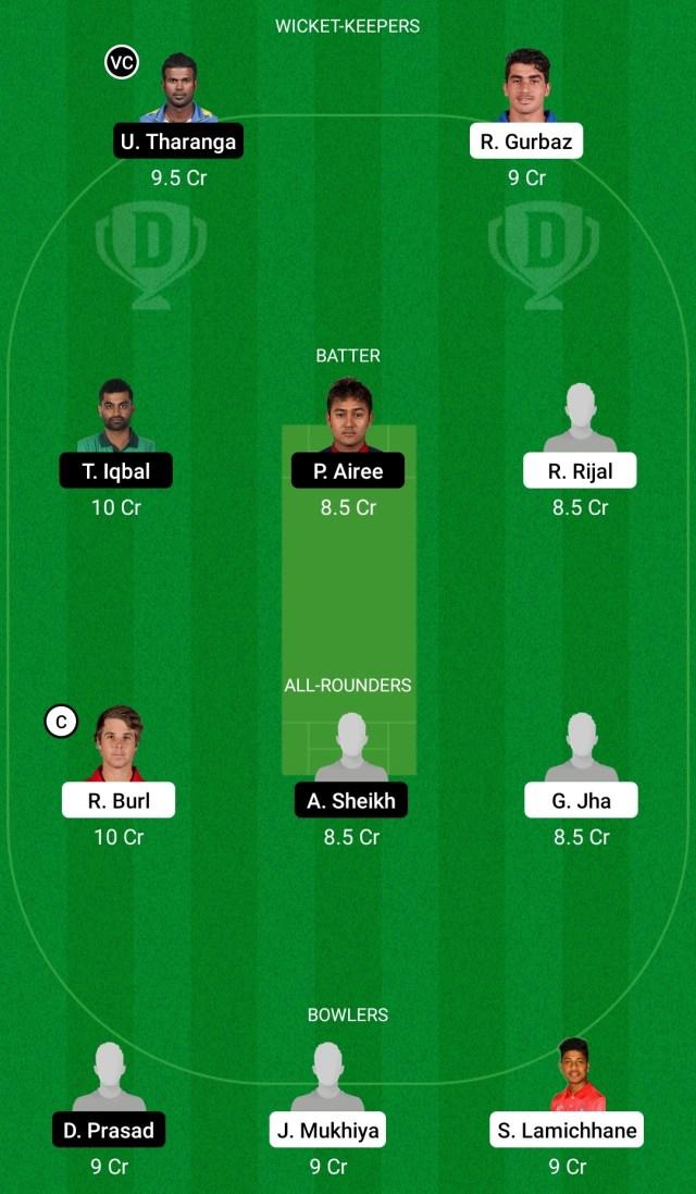 केके बनाम बीजी ड्रीम11 प्रेडिक्शन फैंटेसी क्रिकेट टिप्स ड्रीम11 टीम एवरेस्ट प्रीमियर लीग टी20