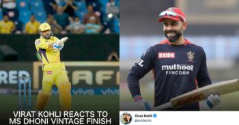 """आईपीएल 2021: """"किंग इज बैक"""" - विराट कोहली एमएस धोनी विंटेज चेस बनाम डीसी क्वालीफायर में प्रतिक्रिया 1"""
