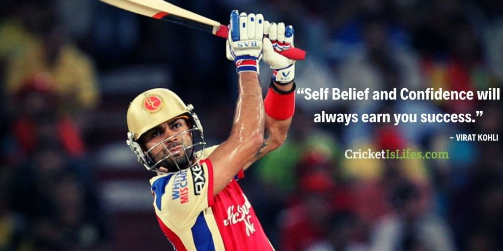 """""""Self Belief and Confidence will always earn you success."""""""