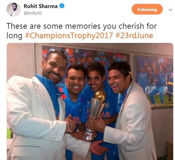 Rohit Sharma Champions Trophy