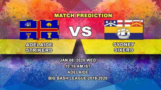 Adelaide Strikers vs Sydney Sixers Prediction | Big Bash ...