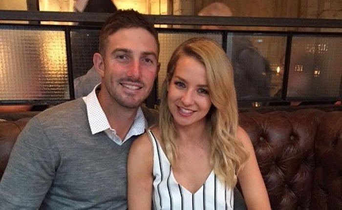 Shaun Marsh and his wife