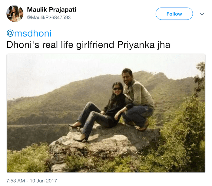 Heres The Real Truth Behind The Viral Picture Of Ms Dhoni