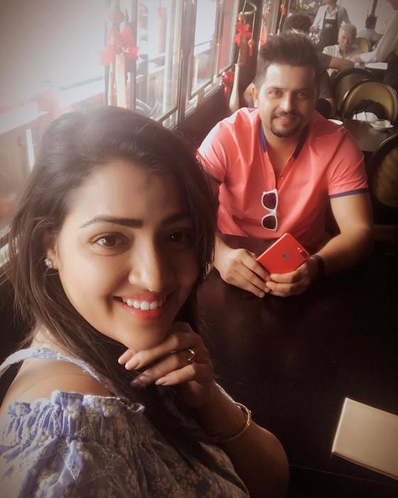 Suresh Raina, Priyanka