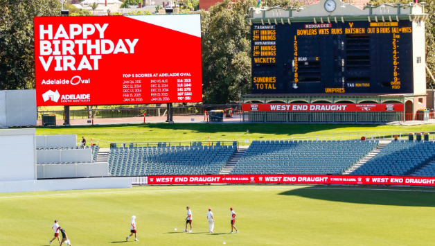 Adelaide Oval-wishes-Virat