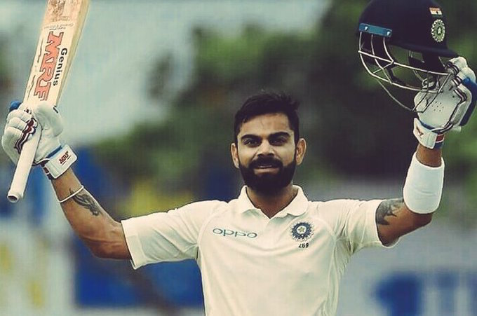 Virat Kohli Test Hundred