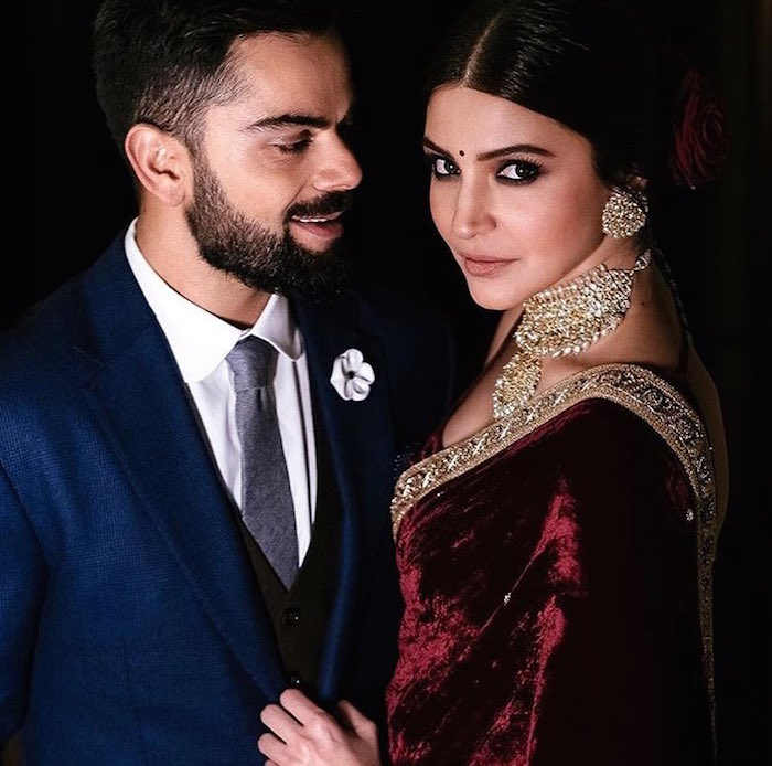 Virat Kohli, Anushka Sharma ring ceremony