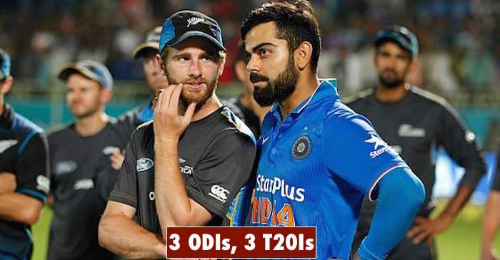 India Vs New Zealand 2017 Full Schedule Crickettimes Com