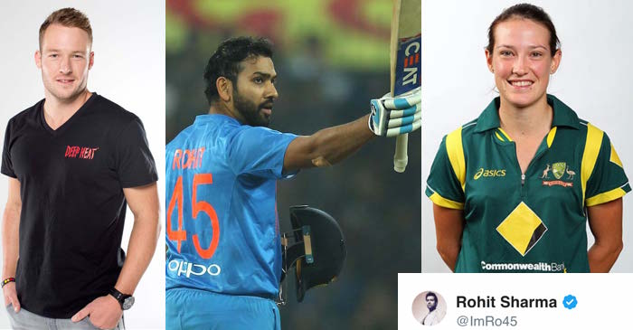 David Miller, Rohit Sharma, Megan Schutt