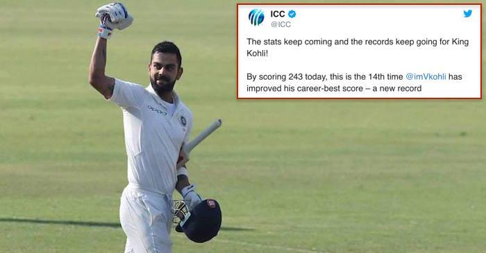 Virat Kohli double century in Tests