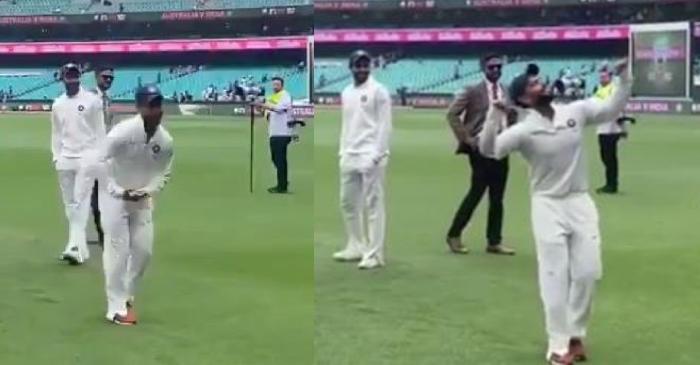 Rishabh Pant dance