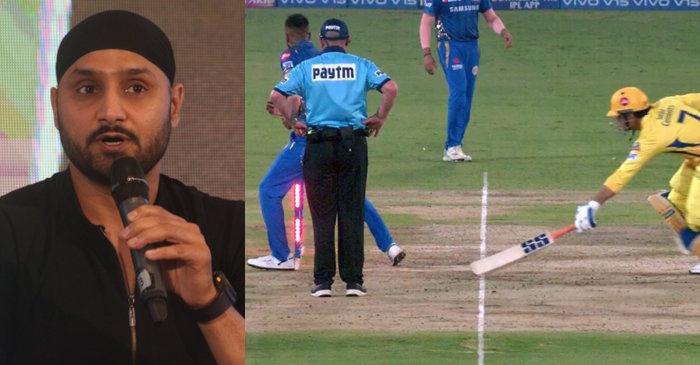 Harbhajan Singh, MS Dhoni IPL 2019