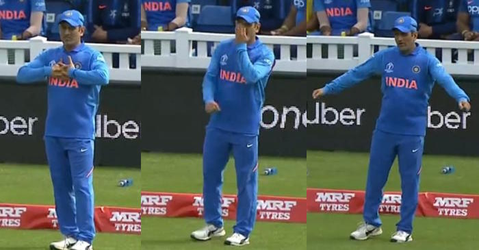 MS Dhoni boundary fielding