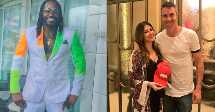 Chris Gayle, Kevin Pietersen, Karishma Kotak, India vs Pakistan