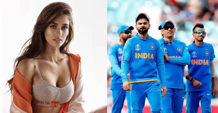 Disha Patani Team India