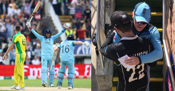 England beat Australia, to play against New Zealand in final