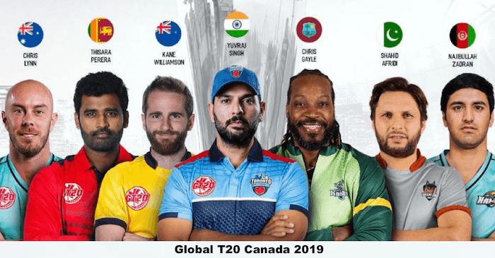 Global T20 Canada 2019