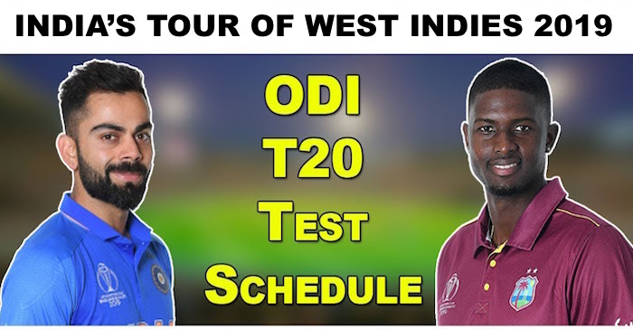 Image result for india tour of west indies 2019
