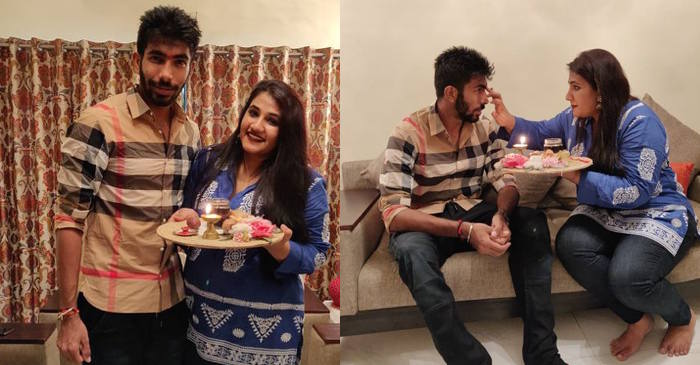 Jasprit Bumrah with his sister Juhika