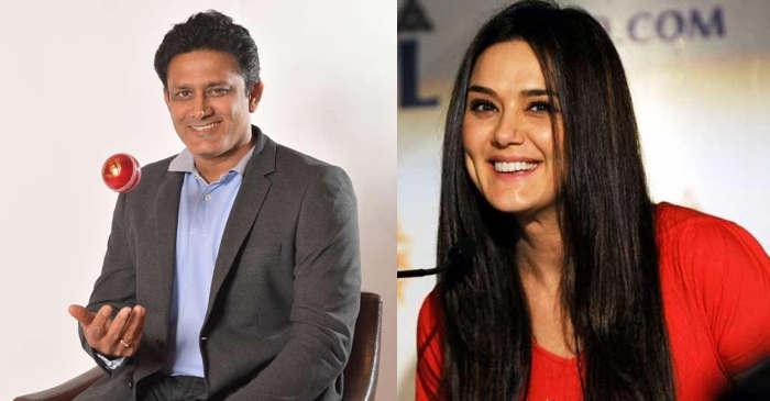 Anil Kumble, Preity Zinta IPL