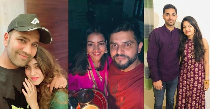 Rohit Sharma, Suresh Raina, Bhuvneshwar Kumar