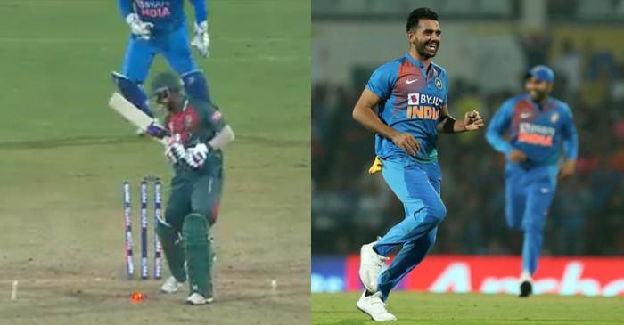 Deepak Chahar hat trick