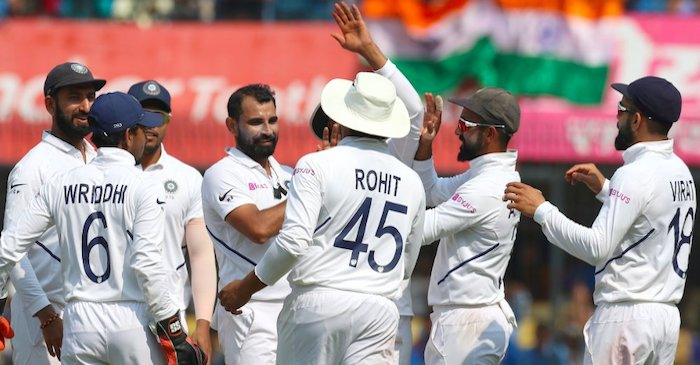 India thrash Bangladesh in Indore
